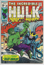 INCREDIBLE HULK #126 : APR 1970 : 1st BARBARA NORRISS / VALKYRIE : HERB TRIMPE
