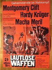 Lautlose Waffen (Kinoplakat '66) - Montgomery Clift / Hardy Krüger