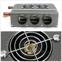 Double Side Truck Car Portable Heater 6 Ports Copper Speed Switch Under Dash 12V