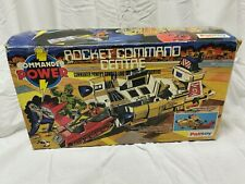 SUPER Joe Action man Commander Power Rocket Command Centre boxed Palitoy RARE
