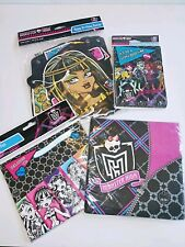 Monster High Party Supplies Bundle Lot Wall Decoration, Loot Bags & MORE New