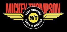 Mickey Thompson Vinyl Banner Flag Sign Auto Car Racing Race Tires Shop Garage