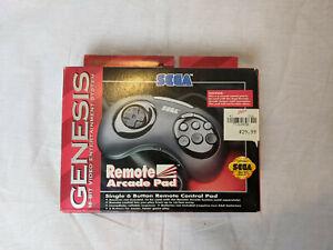 Sega Genesis OEM Wireless 6 Button Controller Pad MK-1629. No receiver. In box.
