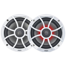 "Wet Sounds RECON-6-S-RGB  6.5"" 2-Way Marine Speakers w/RGB LED Lighting Pair!!!!"