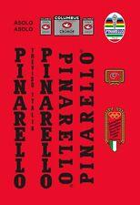 PINARELLO ASOLO 1988 FRAME DECAL SET BLACK