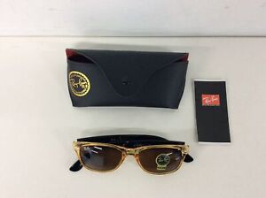 Ray Ban Classic Yellow & Black Sunglasses with G-15 Lens #565