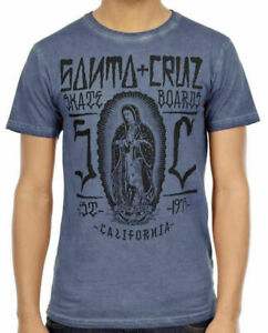 SANTA CRUZ Jason Jessee Guadalupe Inked - Skateboard Tee Shirt - Carbon - Large