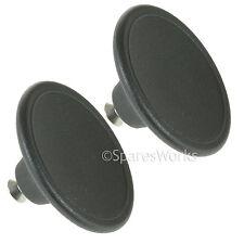 2 x 5.5cm Handle Glass Lid Knob For Le Creuset Casserole Pot Saucepan Lids Black