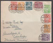 Latvia 1934. Cover to Denmark.
