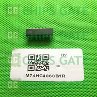 9PCS M74HC4060B1R IC COUNT/OSC 14STAGE BIN 16-DIP ST