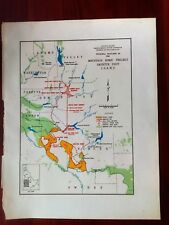 1950 Sketch Map Mountain Home Project Payette Unit ID Boise Aqueduct Plants