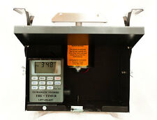 12 Volt Black Box Feeder Control Unit with Attached Solar & THE-TIMER & Battery