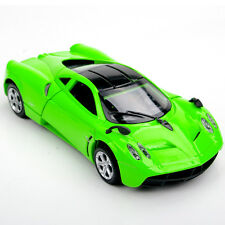 1/32 Diecast Car Alloy Green Pagani Zonda Vehicles Model Toy W/light&sound