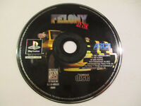Felony 11-79  for Ps1 Game Disc Only Very Good Condition Free Ship