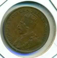 1915 CANADA LARGE CENT, EXTRA FINE, GREAT PRICE!