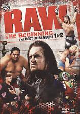 WWE: Raw: The Beginning - Best of Seasons 1  2 (DVD, 2010, 4-Disc Set)
