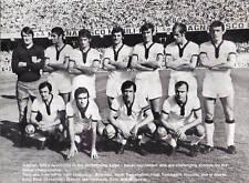 Cagliari équipe de football photo > saison 1971-72