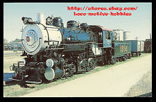 LMH Postcard  SOUTHERN RAILWAY 0-8-0 Switcher  SOU 1894 SPENCER SHOPS IC NCTM