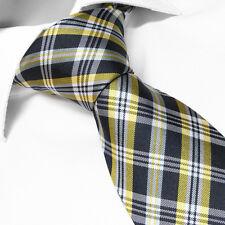 Cravate Bleu à carreaux Mariage Cérémonie Soirée Fête Anniversaire Noel Valentin