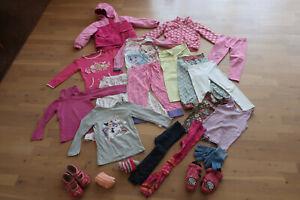 Großes Mädchen Kinder Bekleidung Paket Gr. 98/104 Jacke Kleidung Herbst Winter