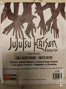JUJUTSU KAISEN n° 1  Early Access Variant Limited  ed. Planet Manga (NUOVO)