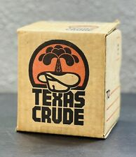 Vtg 1977 Mini Barrel Texas Crude Oil Container Souvenir Novelty Well Drill Field