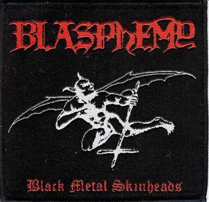 Blasphemy - BMS Desecrator Demon Patch Deiphago Beherit Sarcofago Deicide Von