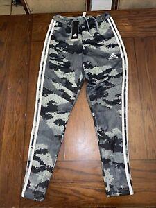 Small Adidas Tiro 19 Carbon Gray Camo Men's Training Pants Climacool FK4493 Size