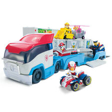 Paw Patrol Patroller Transporter Semi Truck Vehicle Fun Toy ATV Pups Ryder Set