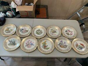 Lenox BOEHM BIRD plates (set of 10)