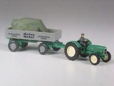 Klasse: Wiking Sondermodell MAN Trecker mit Hänger Anton Habel Landmaschinen