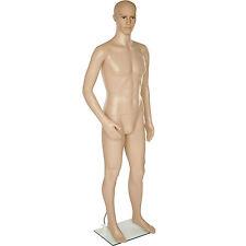 Manichino uomo da vetrina manichino sartoriale girevole e mobile altezza: 185 cm