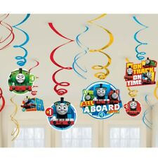 Amscan International 671752 Thomas and Friends Swirl Decoration Kit