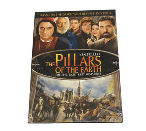 pillars of the earth Dvd Ken Follet Region 1 New And Sealed