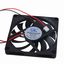 80mm DC 5V Cooling Case Fan 8cm 2Pin 80x10mm Brushless For PC Computer Cooling