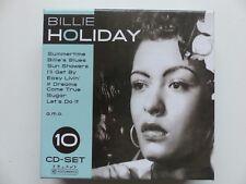 BOX CD Billie Holiday – Billie Holiday  10 cd set   222914
