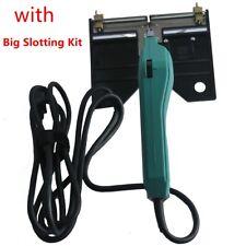 150W Electric Hot Knife Foam Cutter Slotting Heater Cutting Tool + Slotting Kit