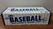 1982 Fleer Baseball Vending Box Of 500 Cards. Nrmt-mt