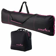 Athletico Padded Two-Piece Snowboard and Boot Bag Combo   Store & Transport S...