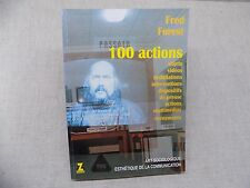 FRED FOREST 100 ACTIONS - Envoi signé - Art contemporain