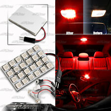 T10/Festoon/BA9S12 SMD RED LED Interior Dome / Map Light Bulb Panel For MAZDA