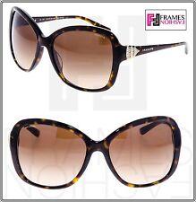 BVLGARI 8135BF Diva Brown Havana Gold Oversized Sunglasses 504/13 BV 8135
