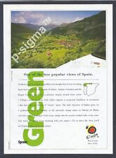 GREEN SPAIN -Northern Spain-1993 Travel Print Ad