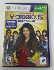 Victorious: Time To Shine (Microsoft Xbox 360, 2011) Complete Tested Working