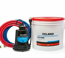 Kelaro Tankless Water Heater Descaler Flushing Kit - Just add Vinegar
