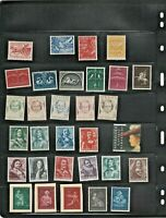 NETHERLANDS,COLLECTION OF 50 UNUSED POSTAGE STAMPS.PLEASE SEE SCANS