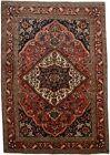 Traditional Floral Design Handmade 7X10 Vintage Oriental Rug Home Wool Carpet