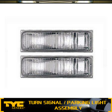 TYC 2X Turn Signal/Parking Light Lamp Front Left&Right For 1990-1993 Chevy C1500