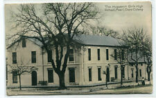 Huguenot Girls High School Paarl Cape Colony South Africa 1905 postcard