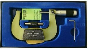 Micromètre Centésimal Pour Externes 50 - 75 MM Borletti+Certifié+Accessoires